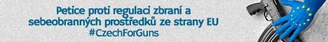 CzechForGuns - Petice proti regulaci zbraní ze strany EU